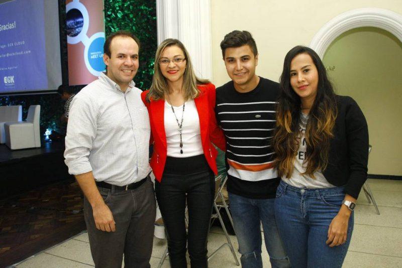 César Vega, Cleiva Aguilar, Sergio Serrano y Sandra Del Río. - César Flórez/GENTE DE CABECERA