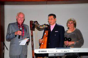 Hernando Abril, Mario J. Moreno y Carmen Cecilia Niño