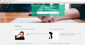Además de la gran base de datos, el portal cuenta con noticias sobre estudios de personajes destacados. - Internet / GENTE DE CABECERA