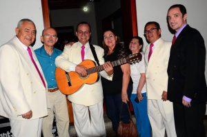 Pedro Silva, José Antonio Henao, Reinaldo Benavides, Olga Benavides, María Antonia Albarracín, Gerardo Cortés y Marcel Tarazona