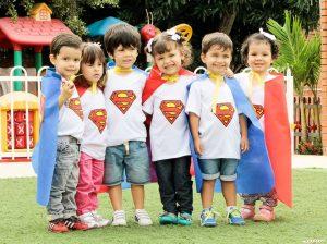 Como verdaderos héroes y heroínas se sintieron los pequeños durante sus vacaciones recreativas. - Suministrada/GENTE DE CABECERA