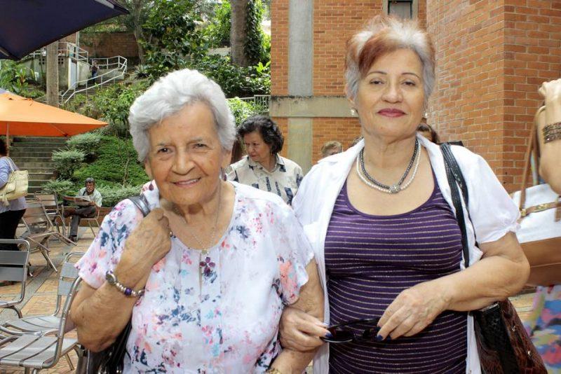 Aura Hernández de Manjarrez y Martha Manjarrez. - Fabián Hernández/GENTE DE CABECERA