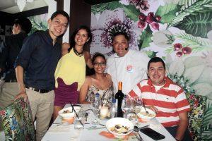 Julián Mantilla, Katherine López, Liliana Cogollo, Paulo Choi y Sergio Mantilla