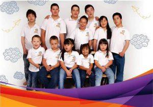 Niños de la Corporación Down Sin Fronteras. - Suministrada/GENTE DE CABECERA