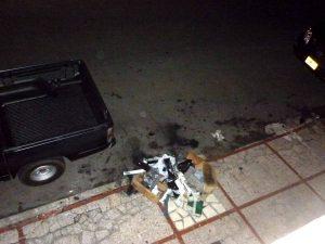 Los desechos fueron dejados en la calle incumpliendo los horarios de recolección. - Suministradas/GENTE DE CABECERA