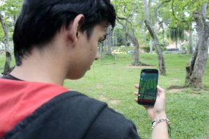 El Parque San Pío está entre los sitios predilectos de los jugadores porque allí se encuentran gran cantidad de pokemones. - Fabián Hernández/GENTE DE CABECERA