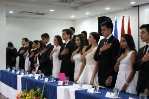 Los estudiantes asumieron los diferentes roles y Consejos presentes en la ONU. - Suministrada/GENTE DE CABECERA
