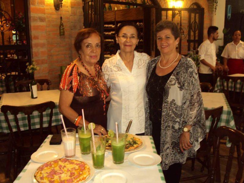 Ligia Rojas de Sandoval, Gladys Basto de Sánchez y Ángela Buitrago de Arias. - Suministrada/GENTE DE CABECERA