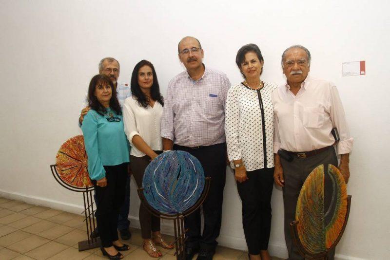Luis Álvaro Mejía, Clara Hernández, Victoria Espinosa Rincón, Daniel Castillo, Carmen Cecilia de Espinosa y Orlando Morales. - César Flórez/GENTE DE CABECERA