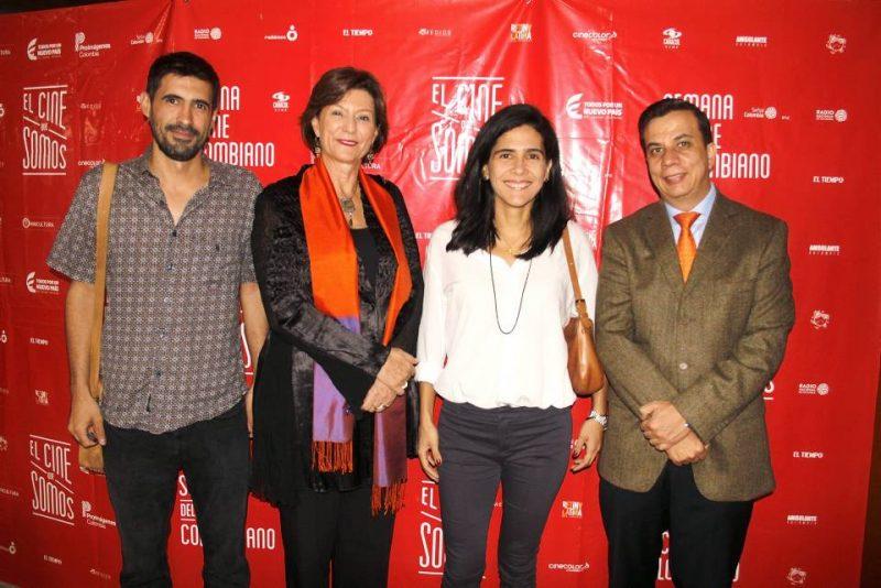 Máximo Flórez, Claudia Triana, Valentina Flórez y Carlos Acosta. - Javier Gutiérrez/GENTE DE CABECERA
