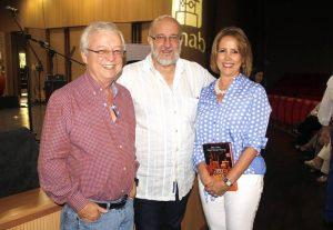 Rafael Ardila Duarte, Daniel Samper Pizano y Nancy Arenas de Ardila