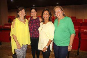 Yolanda Moreno, Natalia Castañeda, Yaneth Villamizar y Triche Streithorst
