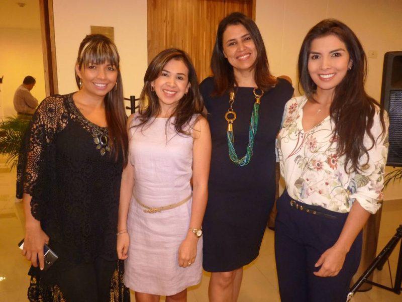 Karla Hernández, Natalia Gutiérrez, Elena Guerrero y María Alejandra Sampayo. - Suministrada/GENTE DE CABECERA