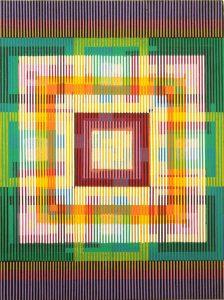 Las 43 piezas de 'Polvo de estrellas' reflejan la interpretación del cosmos por parte del artista. - Suministrada/GENTE DE CABECERA