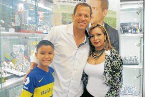 Álex Santiago Martínez, Óscar Córdoba y Raquel Correa Ayala