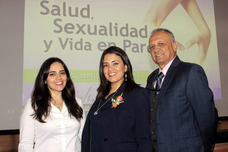 Siboney Rodríguez, Ibalhú Rodríguez y Benito Vega Serrano. - Fabián Hernández/GENTE DE CABECERA