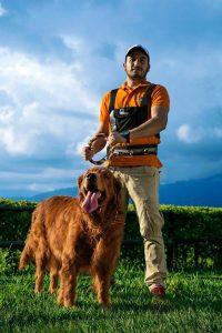 Hila, la hija perruna de Joel y Diana, fue inspiración para crear Walking Dog. - Suministrada/GENTE DE CABECERA
