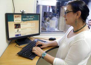 Ella Carolina hace un llamado a la administración departamental para que apoye con recursos la creación de propuestas cinematográficas.  - Javier Gutiérrez / GENTE DE CABECERA