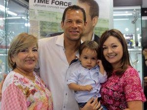 Alicia Rincón, Óscar Córdoba, Julián Emilio Maldonado Pinilla y Angélica Pinilla.