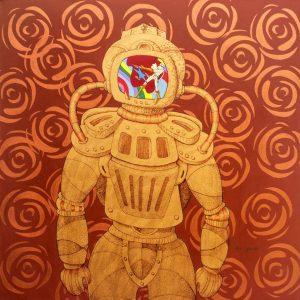 Esta es una de las piezas que conforman la exposición Saldaña 10.950. - Suministrada/GENTE DE CABECERA