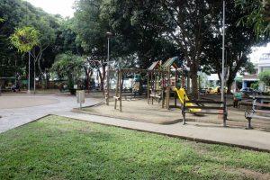 Los vecinos y visitantes del Parque expresaron gratitud y alegría por el mejoramiento de este espacio. - Fabián Hernández/GENTE DE CABECERA