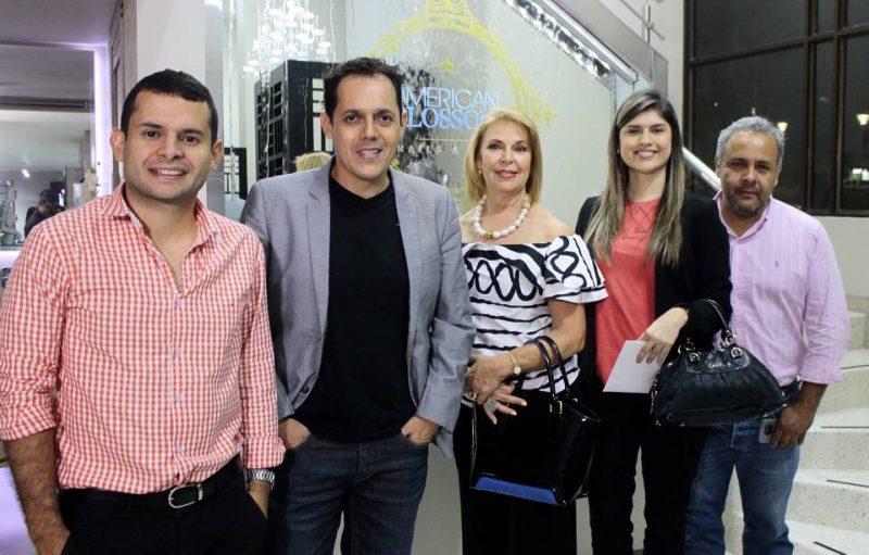 Lucas Silva, José Murillo, María Cristina Plata, Catalina Acevedo y Nelson Patiño. - Fabián Hernández /GENTE DE CABECERA
