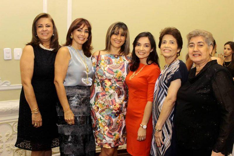 Lucía Beatriz de Arenas, Rosmary Moreno, Janeth Alfonso, Ángela María Olaya, Teresita López y Nohora Ronderos. - Fabián Hernández/GENTE DE CABECERA
