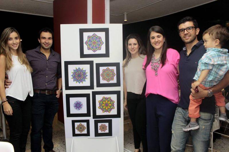 María Alejandra Arenas, Juan Manuel Grau, María Camila Paillie, Cata Arango U, David Moreno y Santiago Moreno. - Fabián Hernández/GENTE DE CABECERA