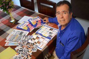 Un plan familiar y la oportunidad de recordar buenos momentos se ha vuelto llenar el álbum '40 años Promoción 76' ideado por Luis Gerardo González