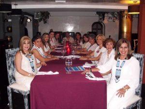 Myriam Ojeda, Fabiola Carrascal, Johana Rangel, Paola Ariza, Teresa Briceño, Marcela Hernández, Ana Vargas, Mercedes Castro, Élida Jácome, Luz Dary Platarueda, Cecilia Cadena y Gladys García