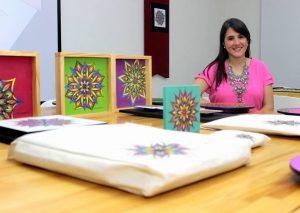 Los diseños y productos de la colección 'Alegría' pueden verse en la fan page Cata Arango U - Arte. - Fabián Hernández/GENTE DE CABECERA