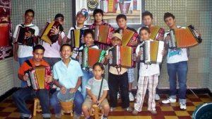 La Academia de música vallenata tiene 14 años de existencia. - Suministrada / GENTE DE CABECERA