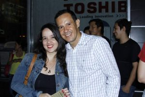 Paola Gómez y Víctor Cediel