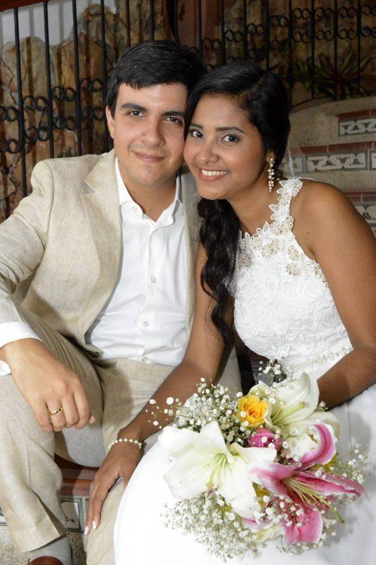 Guillermo Alejandro Guerra Ramírez y Johana Quintero Guerrero. - Suministrada/GENTE DE CABECERA