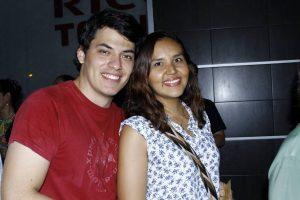 Carlos Tavera y Tatiana Bernal