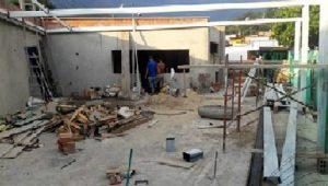 Así avanza la construcción del restaurante escolar. - Suministrada/GENTE DE CABECERA