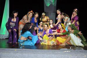 El evento de danza árabe Xarahiz se realiza hace 5 años en Bucaramanga. - Suministrada/GENTE DE CABECERA