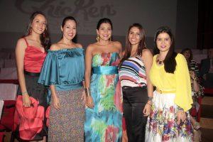 Nathalia Peña, Mónica María Leal, Catalina Hernández, Andrea Anaya Sepúlveda y Margarita Sánchez