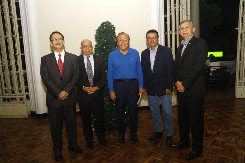 Hernán Calvo, Luis David Arévalo, Rodofo Hernández, Víctor Julio Azuero y Hernán Porras. - César Flórez/GENTE DE CABECERA
