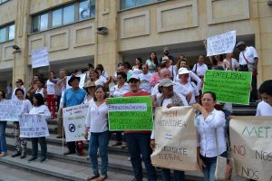 Las protestas y reclamaciones jurídicas de la comunidad lograron reversar la decisión de suprimir la prestación del servicio de transporte por parte de Metrolínea en el sector de Pan de Azúcar