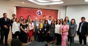 El reconocimiento fue entregado en el Encuentro Internacional de Educadores realizado en Lima, Perú. - Suministrada/GENTE DE CABECERA