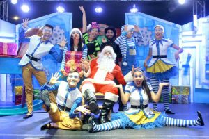La Corporación Rhapsodia cuenta con un impecable espectáculo que integra teatro, canto, baile, acrobacias y danza aérea. - Fabián Hernández/GENTE DE CABECERA