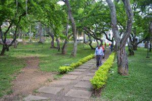 Son varias las acciones que ha realizado la JAC de Cabecera del Llano en pro de mejorar el estado del parque San Pío. - Archivo/GENTE DE CABECERA