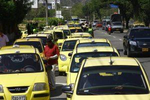 La restricción de 'Pico y Placa' actualmente está vigente para los taxis. - Archivo/GENTE DE CABECERA