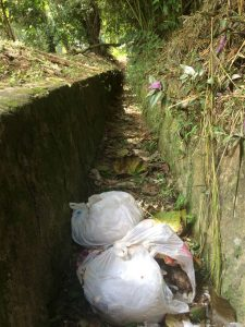 No sacar la basura de manera oportuna ocasiona que esta termine contaminando los alrededores del barrio. - Suministrada/GENTE DE CABECERA