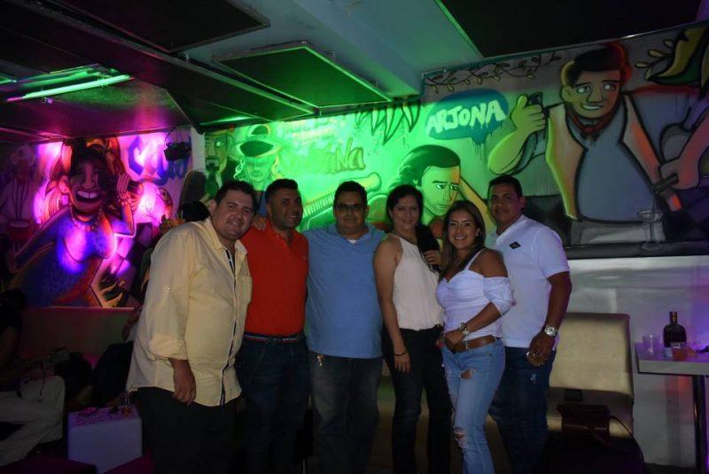 Óscar Serrano, René Rincón, Manuel Reyes, Adriana Bárcenas, Viviana Rojas y Alexander García. - Suministrada/GENTE DE CABECERA