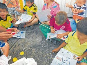 También se realizan actividades lúdicas y recreativas con la población beneficiada. - Suministrada/GENTE DE CABECERA