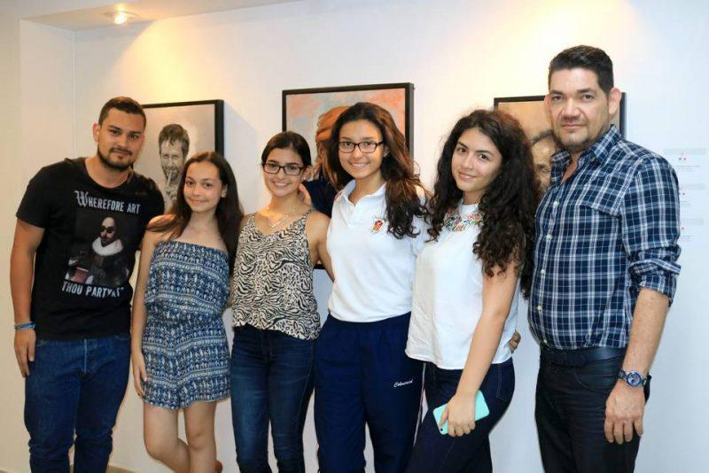 Yesid Pimiento, Juliana Ríos, Lucía Méndez, Nancy Blanco, Samantha Vargas y Ciro Caballero. - Fabián Hernández/GENTE DE CABECERA