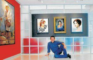 El tema principal del artista Carlos Martínez Palomino es el retrato. Su objetivo, transformar la realidad en un eterno momento de placidez. - Suministrada/GENTE DE CABECERA