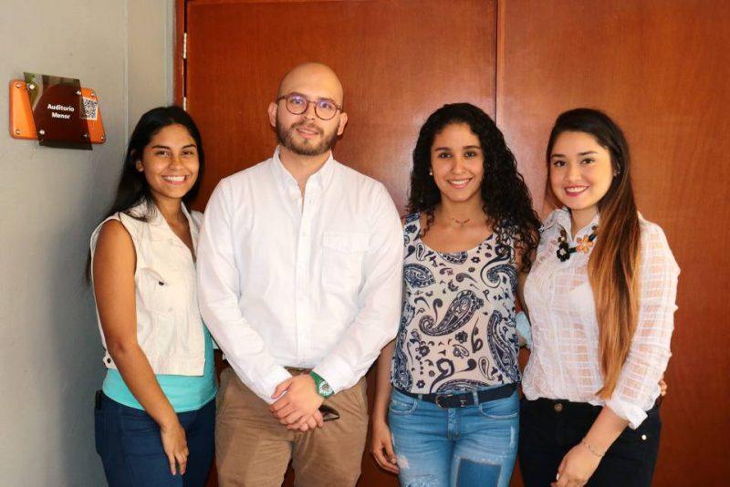 Daniela Cogollo, César Augusto Niño, María Alejandra Villamizar y Sofía Arenas Villarreal. - Fabián Hernández/GENTE DE CABECERA